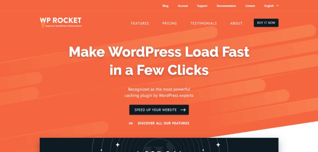 WP Rocket - Caching Plugin for WordPress